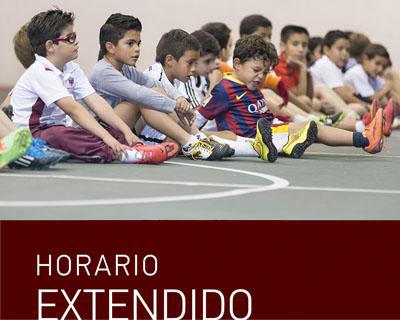 En busca del desarrollo integral de los alumnos, contamos con un horario extendido, el cual permite que nuestros alumnos puedan realizar diferentes actividades escolares, culturales y deportivas.