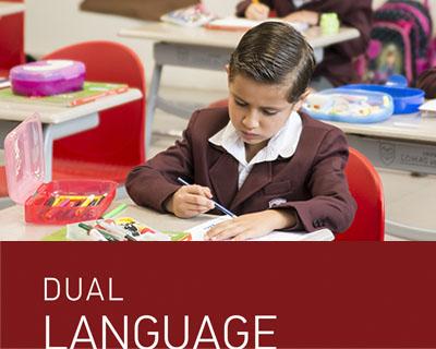 Permite que nuestros estudiantes piensen, lean, hablen y escriban en un segundo idioma, el inglés, fortaleciendo a la vez su lengua materna.
